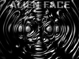 Alien Face by wandererneuron