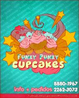 funky punky cupcakes flyer by tstn