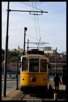 Porto Tram 143 by HerrDrayer