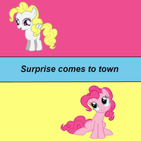 Surprise comes to town cover art by theirishbronyx