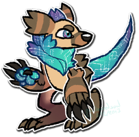 CLOSED 150pt Creature Adopt - Adoptvent Day 2 by Taiinty