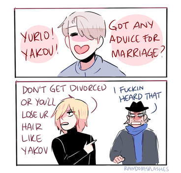 YOI: MARRIAGE ADVICE by Randomsplashes