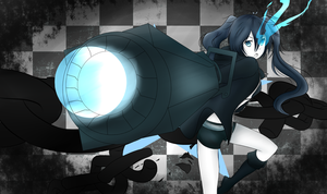 Black Rock Shooter by NekoRawrMeow