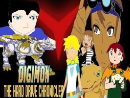 Digimon The Hard Drive Chronicles Poster 3 by AuraHero7