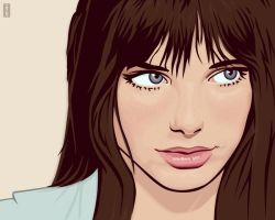 Jane Birkin by monsteroftheid