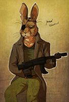 General Woundwort anthro plus WSD animation news by LadyFiszi