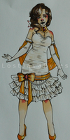 Dress Contest Entry: Miss Cuillere~ by LostJavaBytes