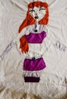 Starfire pillow cover by teentitans
