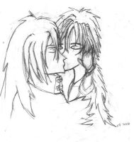 RenoVin: Kiss by ravenqueen22