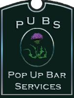 Pop Up Bar Services Logo by Iainmeister-rko