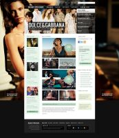 Dead Stocker - Fashion Free PSD Website Template by ProRock