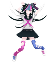 Super danganronapa 2 Mioda Ibuki [DLINFORMATION] by jangsoyoung