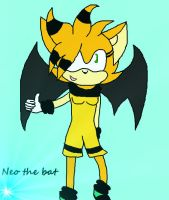 Neo the bat :gift back: :3 by WhirlwindTheHedgehog