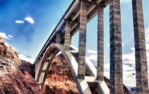 Hoover Dam Bridge by Yuukacos