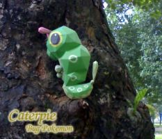 Caterpie - Bug pokemon 2 by Toshikun