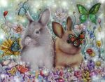The Little Rabbits by Alena-Koshkar