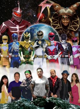 Power Rangers Cast Original by Wushong