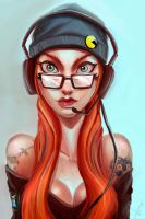 Game Addict by victter-le-fou
