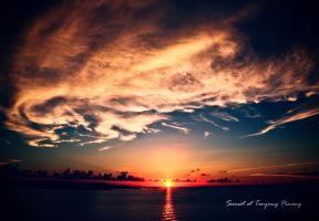 Sunset at Tanjung Pinang by xeven777