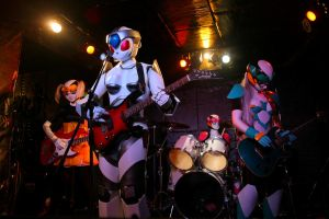 Robot Band by eiyuclub