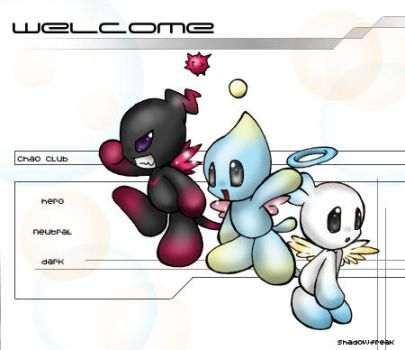 ::Welcome Chao Fans by chao-fan-club