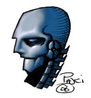 Roboskull colour2 by Rustyoldtown