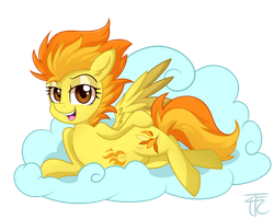 Spitfire on a Cloud by wildberry-poptart