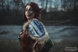 Aela the Huntress, second Shot by Aleeusha