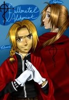 The Elric Brothers by thewaywardsoldier