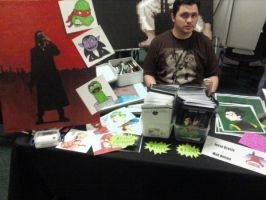 My Con Table May 30 2009 by JesseAcosta