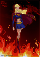 Supergirl [DC comics] by David-Y-F