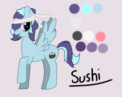Sushi Reference by 3D-BITES