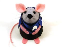 Spock Mouse by The-House-of-Mouse