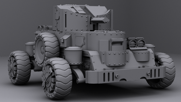 Rahmos Assault Vehicle by Lvl99-Gamer