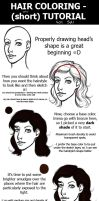 VERY SHORT Hair Coloring Tutorial by Silieth