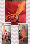 Gift: Giant Squid Plushie by mihijime