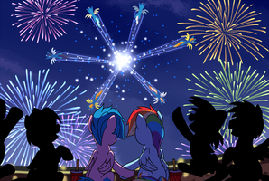 Fireworks (short version) by SorcerusHorserus