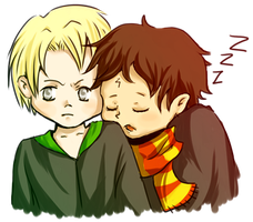 HP - Draco and Harry by theEuphorie
