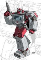 IDW G1 Card - Ratchet by GuidoGuidi