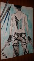 Survey Corps strongest soldier by xylotto