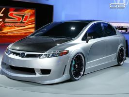 Honda Civic Si Concept by odyar