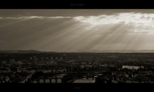 shafts of light by Naegra