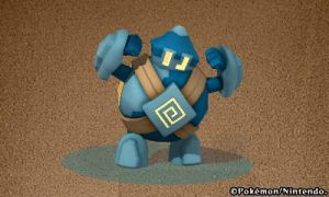 Pokedex 3d - Golett