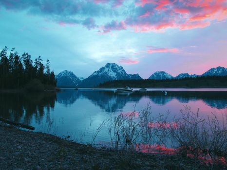 Grand Tetons National Park by Printing-Services