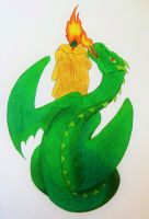 Imbolc Dragon by Lost-in-the-day