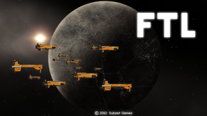 FTL Menu screen by kvikki