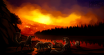 Saliko - Rage of Fire by Mikaley
