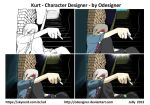 Kurt - Paiting Process by ODesigner
