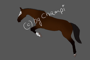 Horse Design for Aquarille by Chumpi-Champi