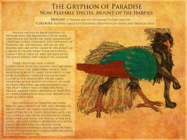 The Gryphon of Paradise by ToxicCreed
